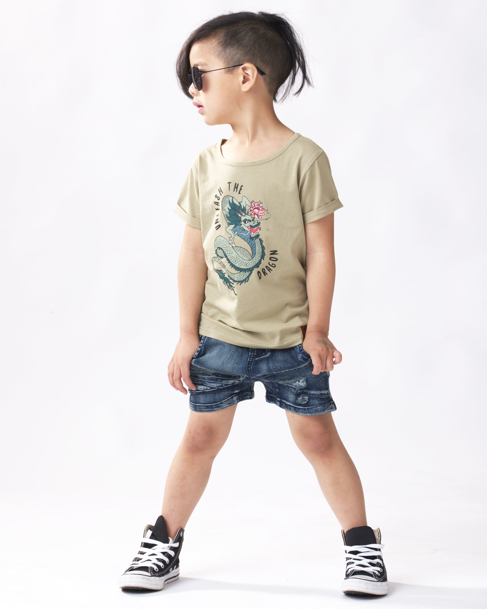 OOVY Kids Unleash The Dragon Tee