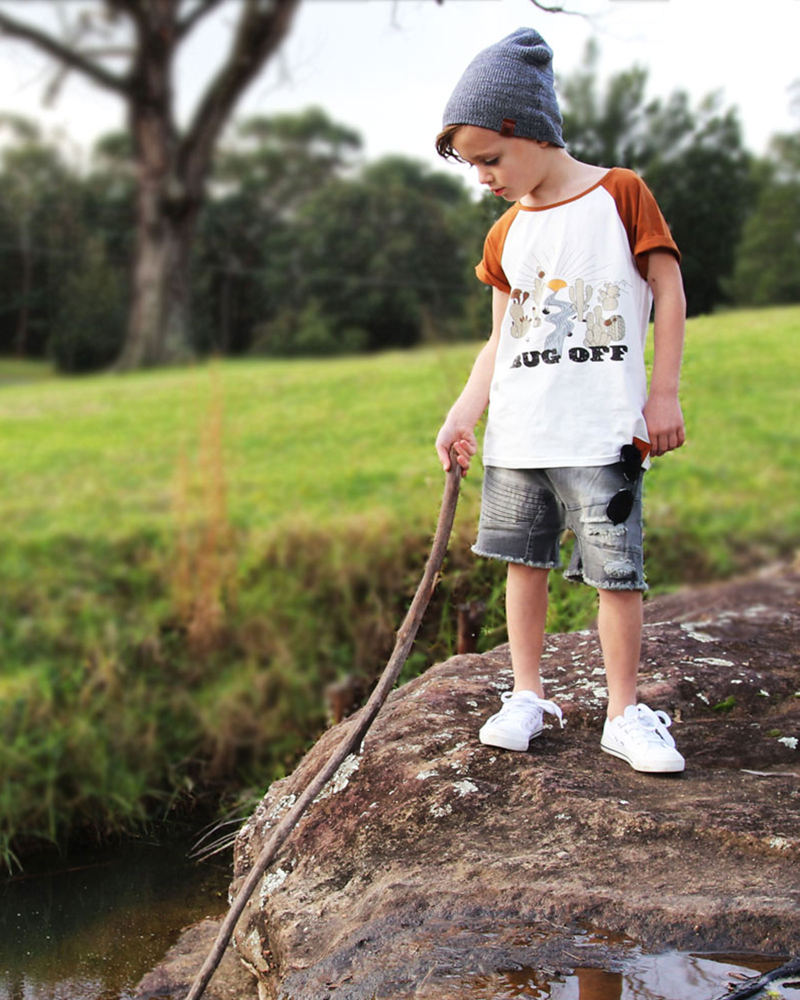 OOVY Kids Bug Off Tee