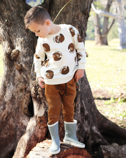 OOVY Kids Pangolin Roll With It Sweater