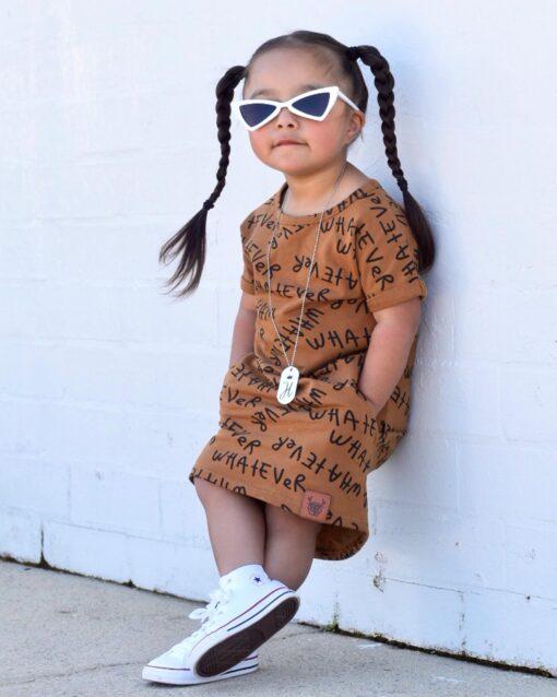 OOVY Kids Whatever Tee Dress
