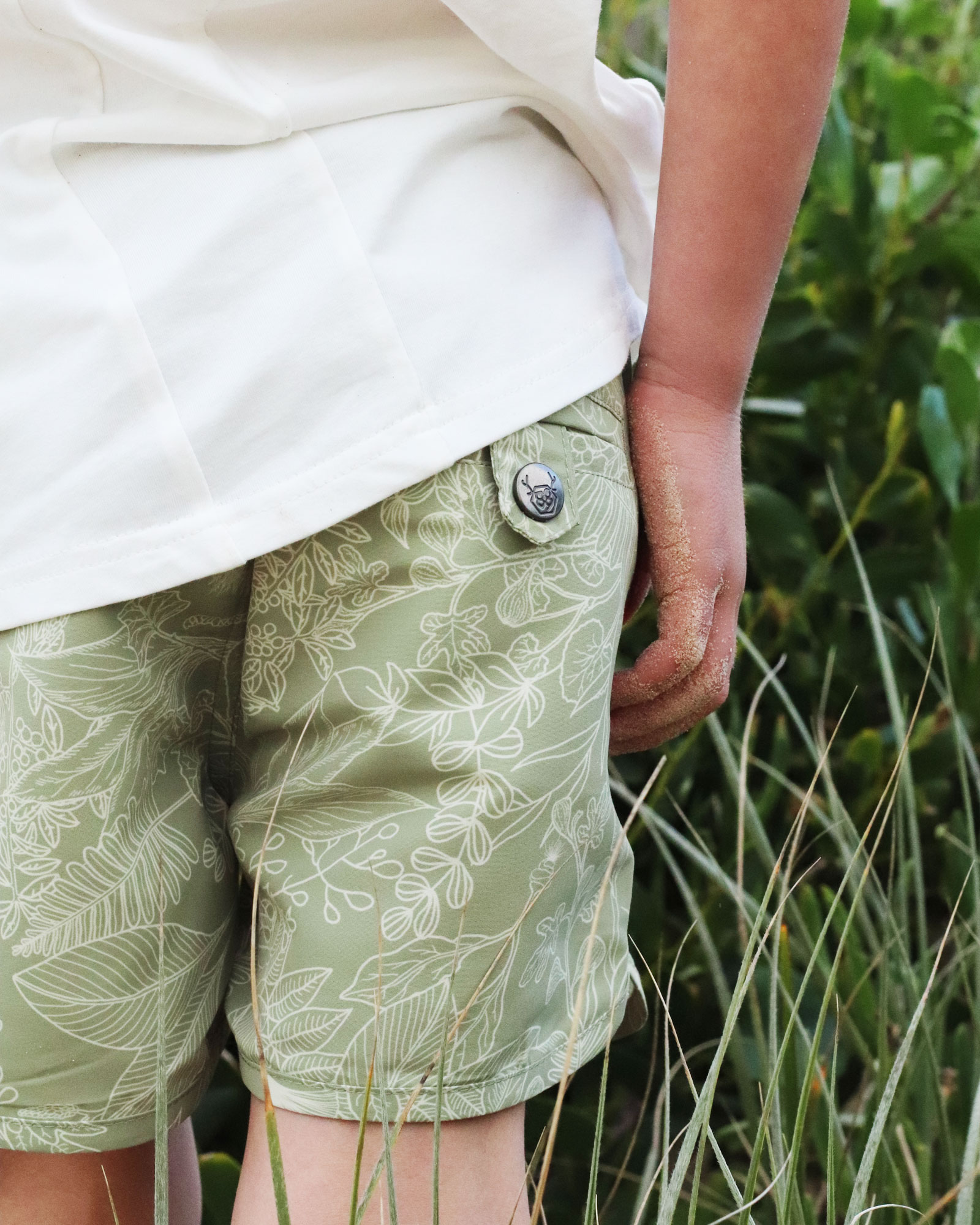 OOVY Botanicals Eco Father & Son Boardshorts