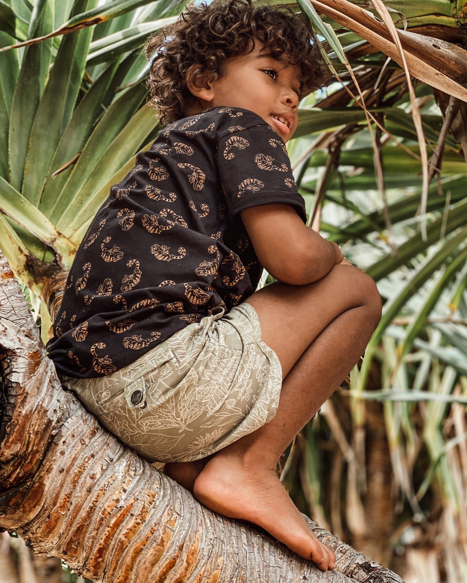 OOVY Kids Eco Botanical Boardshorts