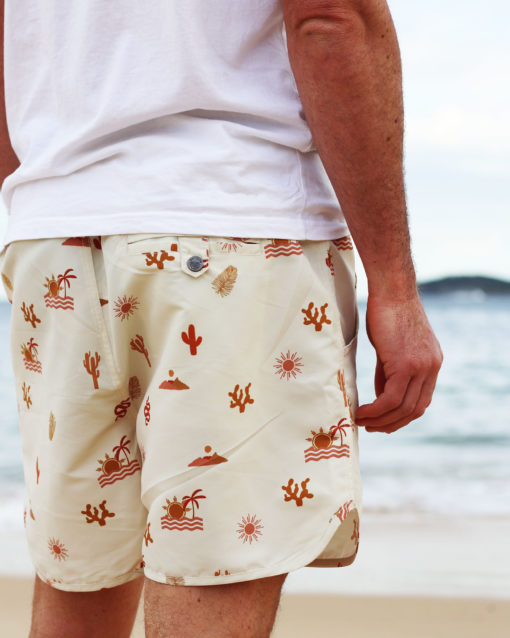 OOVY Oasis Eco Father & Son Boardshorts