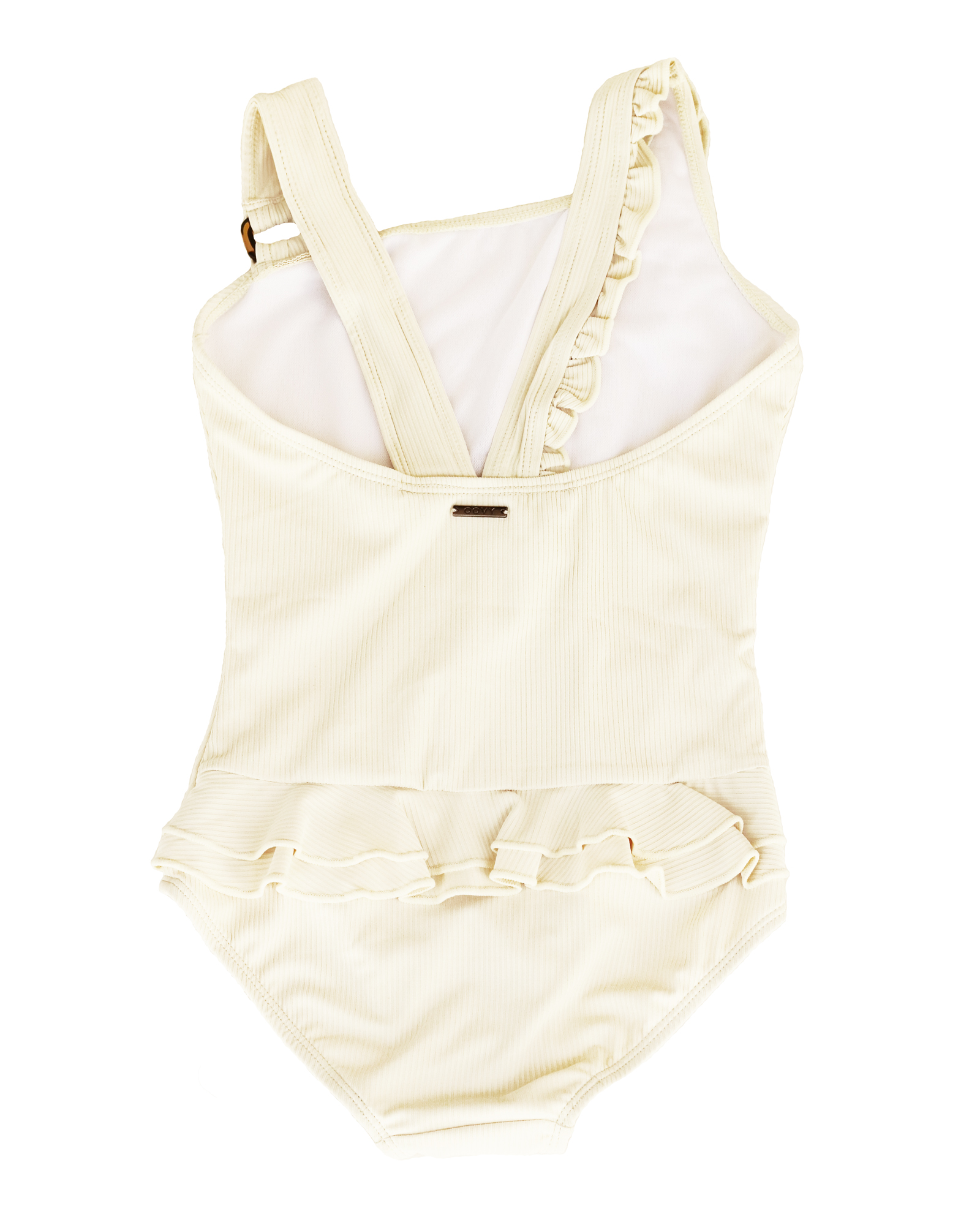 OOVY Kids Eco Ribbed Coconut Swimsuit