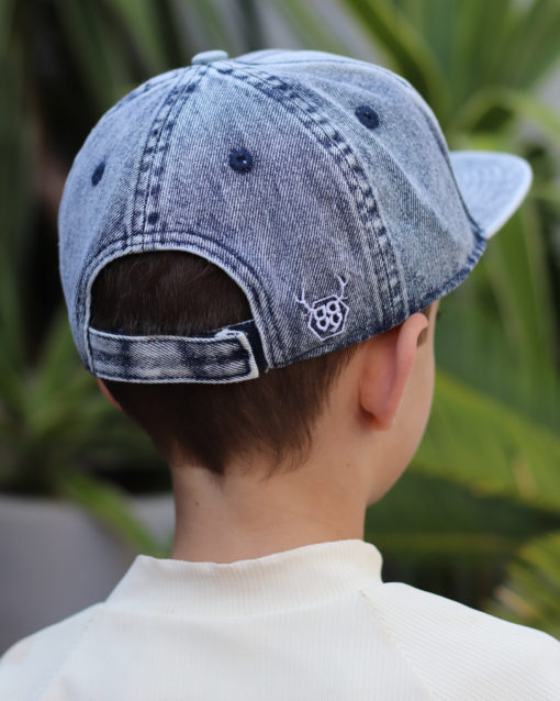 OOVY ocean Stone Wash Denim kids Snapback