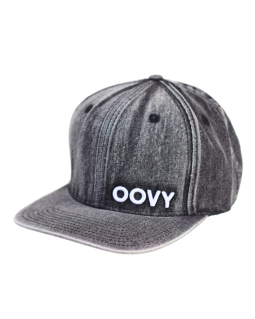 OOVY Storm Stone Wash Denim kids Snapback