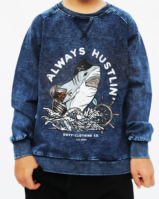 OOVY Kids Always Hustlin' Sweater