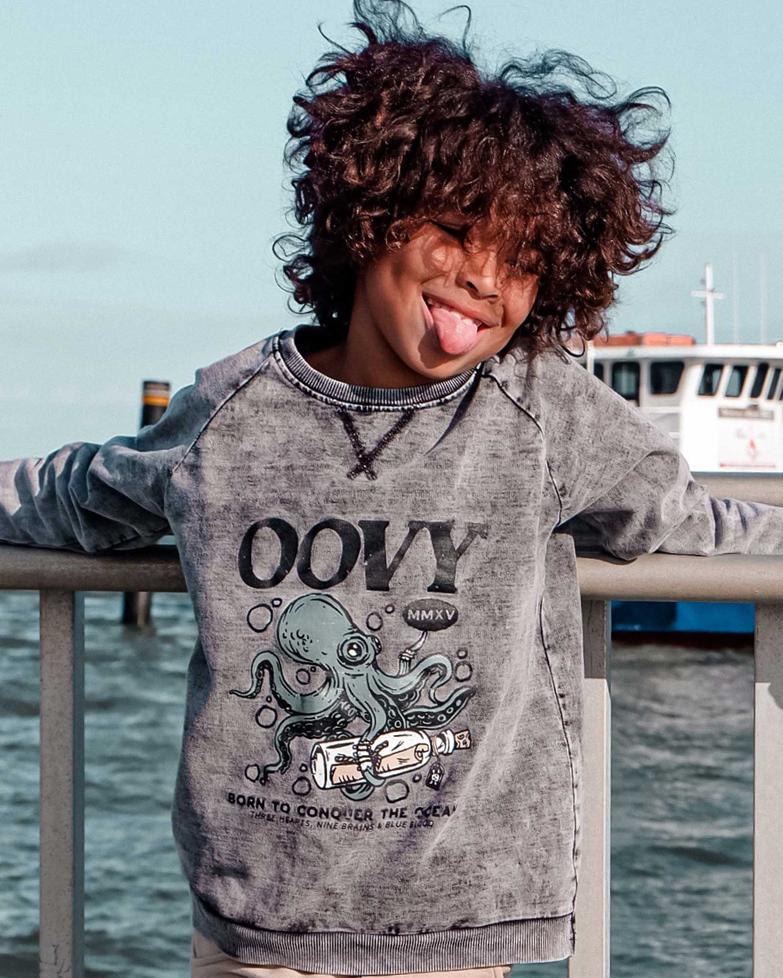 OOVY Kids Conquer The Ocean Sweater