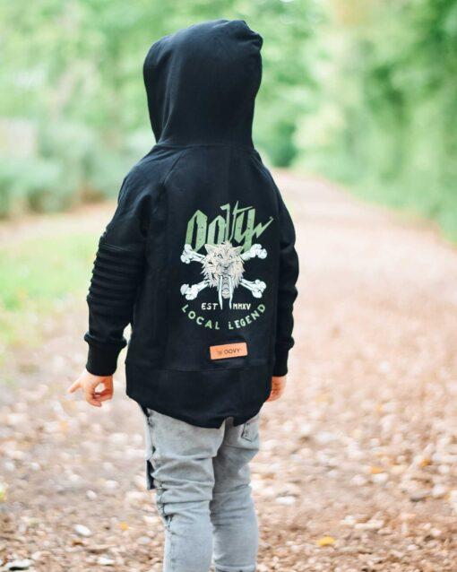 OOVY Kids Local Legend Zip Sweater
