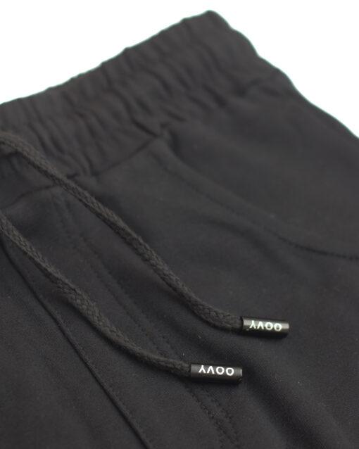 Midnight Distressed Harem Pants