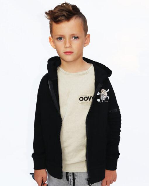 OOVY Kids Moss Green Long Sleeve Top