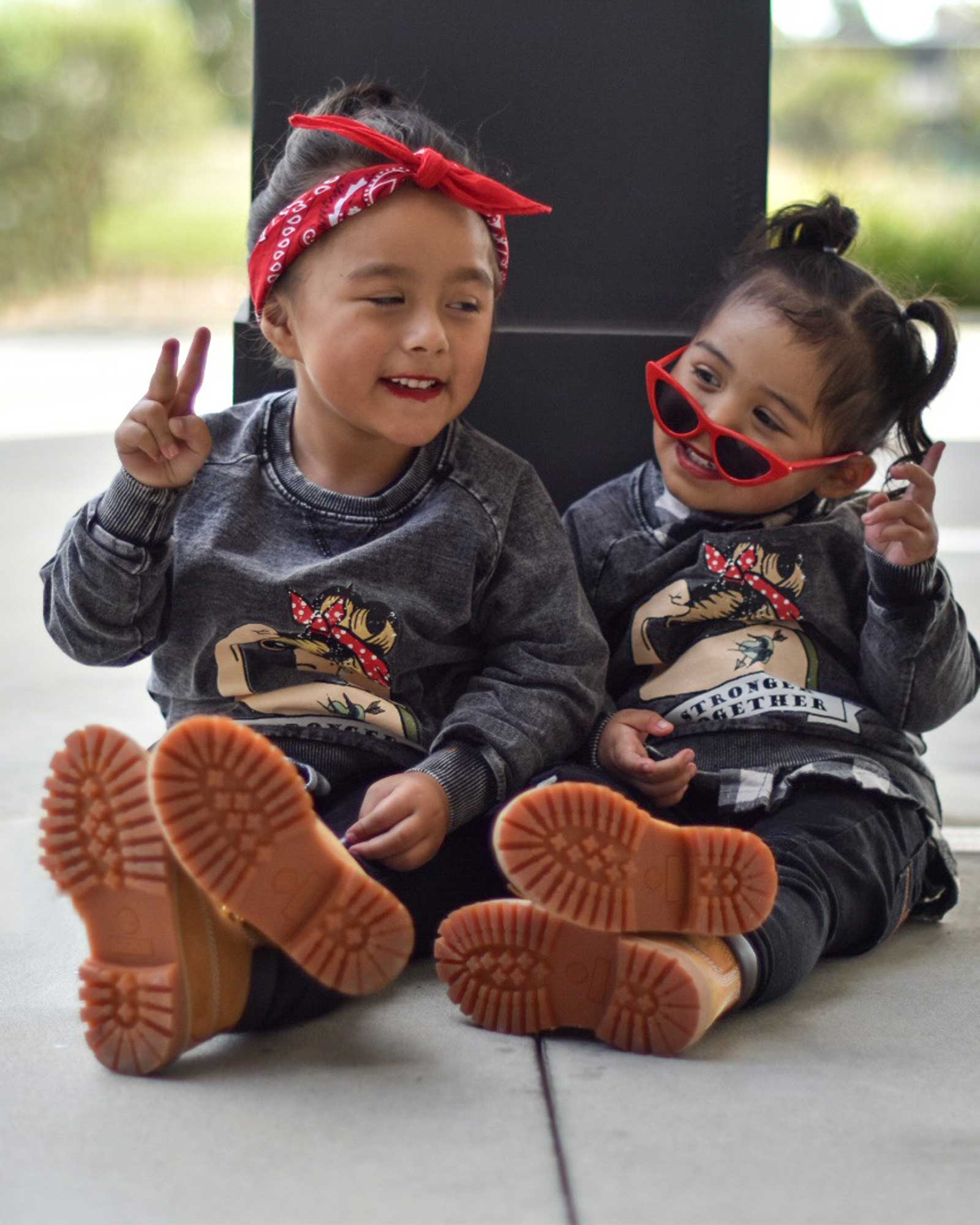 OOVY Kids Stronger Together Sweater