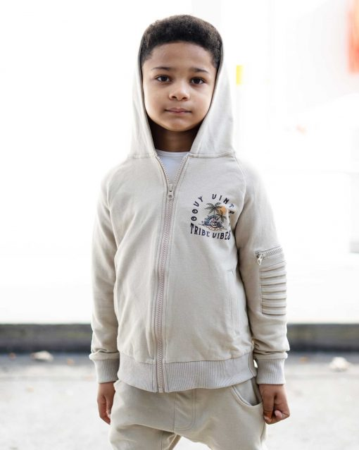 OOVY Kids Tribe Vibes Zip Sweater