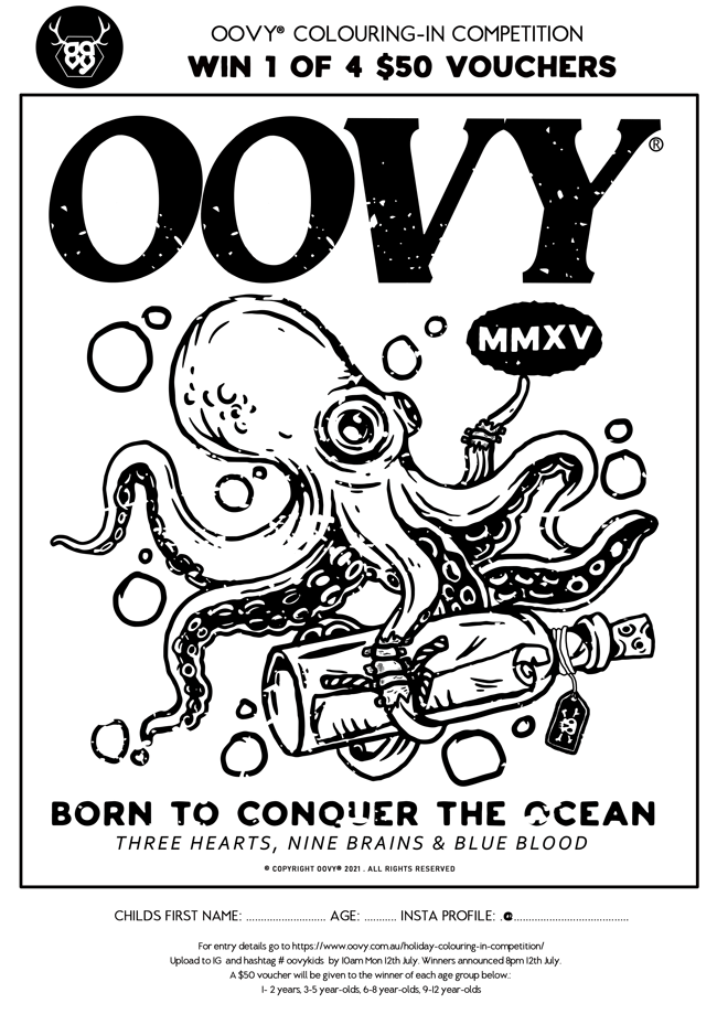 OOVY Colouring In Competition July 21