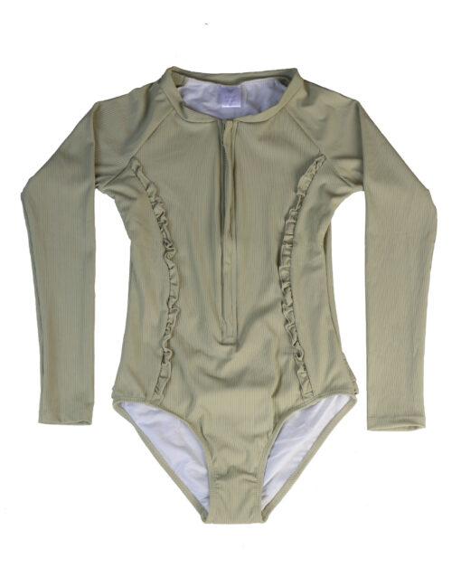 OOVY Kids Eco Fern Sunsuit Swimwear