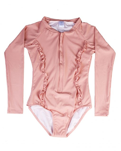 OOVY Kids Girls Eco Coral Sunsuits